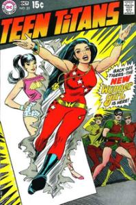 Teen Titans Wonder Girl - Cardy