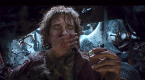 Bilbo and the ring