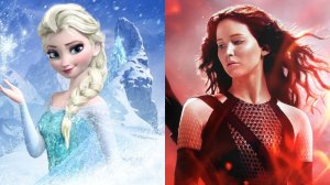 Frozen and Catching Fire