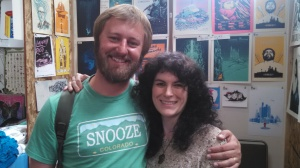 Me and Rory Scovel