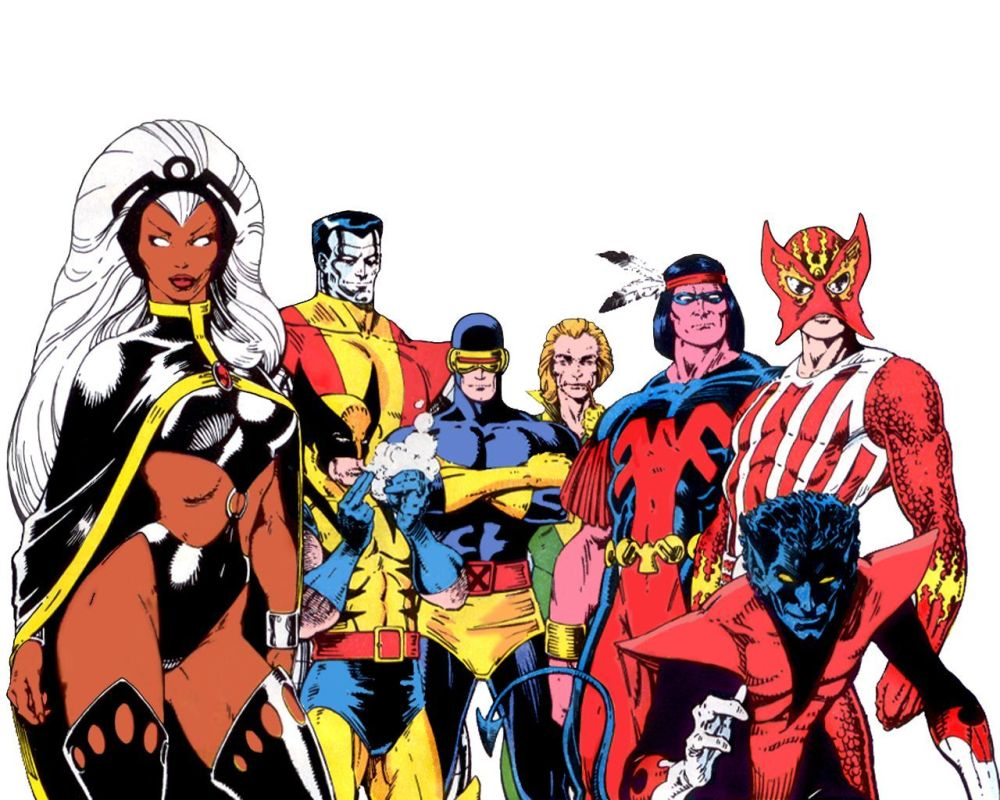 X-Men to date; cartoons/anime,