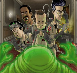cartoon ghostbusters