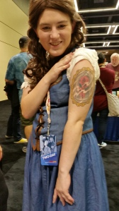 Belle with Tattoo